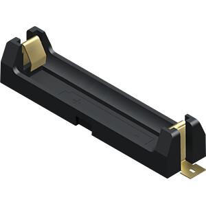 Batterijhouder voor 1 microcel (AAA) KEYSTONE 1020