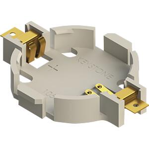 Knopfzellenhalter für 1 Ø 20 mm KEYSTONE 1057