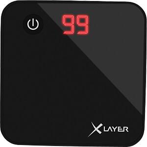 Powerbank, Li-Ion, 6000 mAh, USB, zwart XLAYER