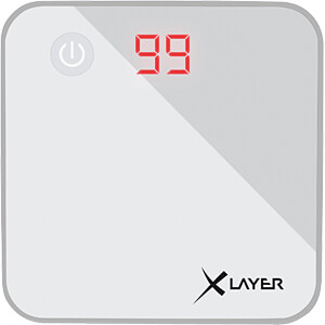 Powerbank, Li-Ion, 6000 mAh, USB, wit XLAYER