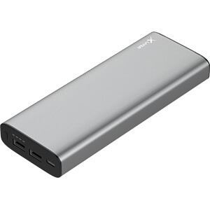 Powerbank, Li-Ion, 20100 mAh, USB-C, space grey XLAYER