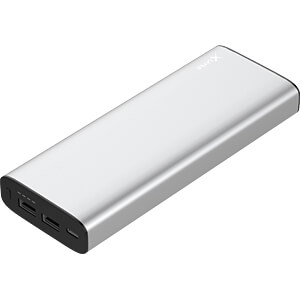 Powerbank, Li-Ion, 20100 mAh, USB C, zilver XLAYER