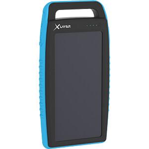 Powerbank, Li-Po, 15000 mAh, USB, Solar XLAYER 215774