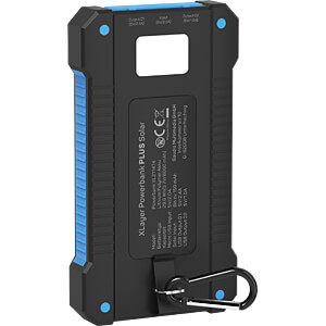 Powerbank, Li-Po, 8000 mAh, USB, Solar XLAYER 215869