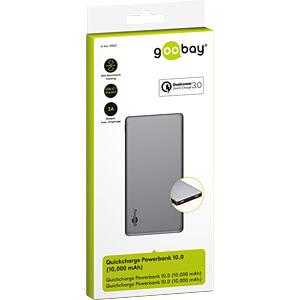 Powerbank, Li-Po, 10000 mAh, USB-C GOOBAY 59821