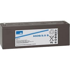 Lead-acid rechargeable battery, 6volt, 3.5Ah, 134.0x34.7x60.5 SONNENSCHEIN A506/3,5 S