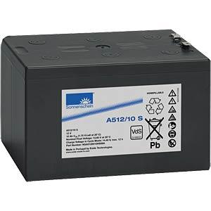 Loodaccu, 12 volt, 10 Ah, 152,0X98,0X94,5mm SONNENSCHEIN A512/10 S