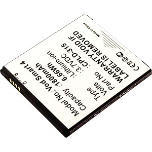 Smartphone-Akku für Vodafone-Geräte, Li-Ion, 1800 mAh FREI 10217