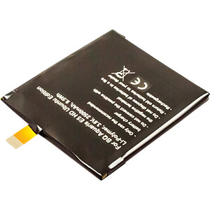 Akumulator do smartfonów BQ, Li-Po, 2500 mAh FREI 10310