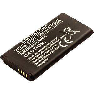 Smartphone-Akku für Samsung-Geräte, Li-Ion, 1900 mAh FREI 13235