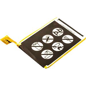 MP3-Player Akku für Apple iPod Touch 5G, Li-Po, 1000 mAh FREI 30553