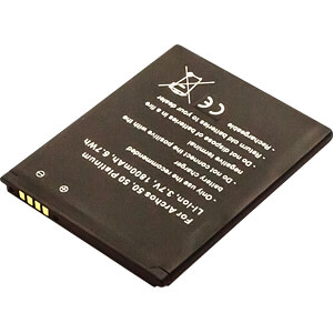 Smartphone battery for Archos devices, Li-Ion, 1800 mAh FREI 30671