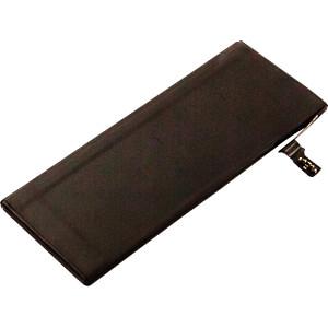 Smartphone-Akku für Apple iPhone 6, Li-Po, 1810 mAh FREI 30707