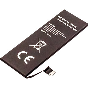 Smartphone-Akku für Apple iPhone SE, Li-Po, 1624 mAh FREI 30718