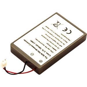 Konsolenakku für Playstation 4 Controller, Li-Ion, 700 mAh FREI 30762