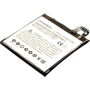 Smartphone-Akku für Google-Geräte, Li-Po, 2770 mAh FREI 30966