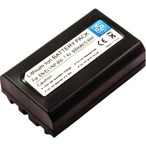 Battery, digital camera, compatible, 800 mAh FREI 40610