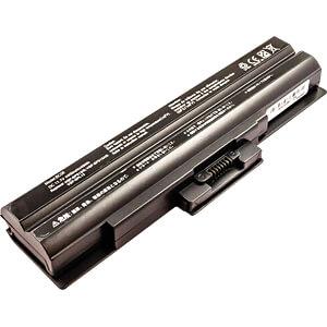 Notebook accu voor Sony, Li-Ion, 4400 mAh FREI 51136