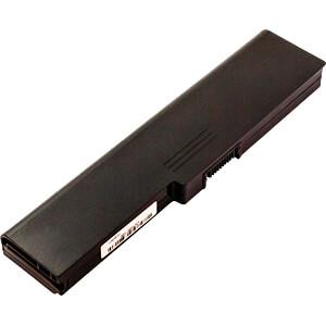 Notebook accu voor TOSHIBA, Li-Ion, 5200 mAh FREI 51339