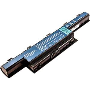 Notebook accu voor Acer, Li-Ion, 5200 mAh FREI 52793