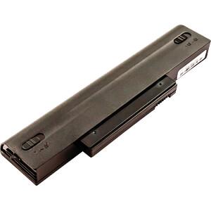 Notebook-Akku für Fujitsu, Li-Ion, 4400 mAh FREI 52850