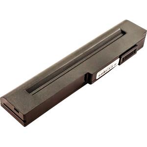 Notebook accu voor ASUS, Li-Ion, 4400 mAh FREI 53318