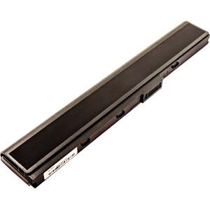 Notebook-Akku für ASUS, Li-Ion, 4400 mAh FREI 53332
