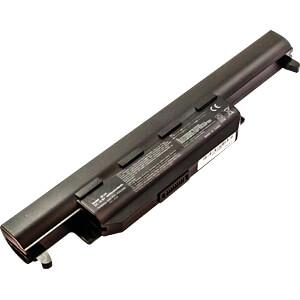Notebook accu voor ASUS, Li-Ion, 4400 mAh FREI 53601