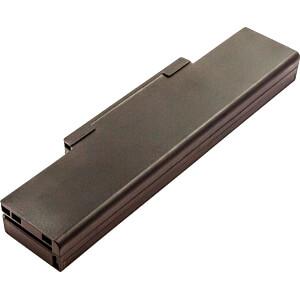 Notebook accu voor MSI, Li-Ion, 4400 mAh FREI 53605