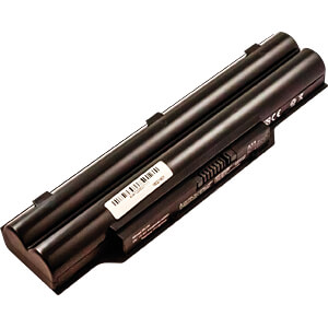 Notebook-Akku für Fujitsu, Li-Ion, 4400 mAh FREI 53711