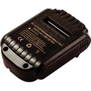 Werkzeugakku für Dewalt-Geräte, 14,4 V FREI 82478