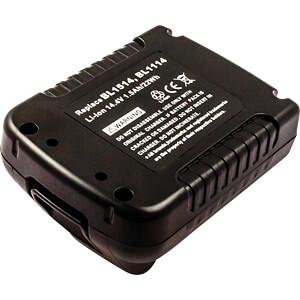 Gereedschapsaccu voor Black&Decker-apparaten, 14,4 V FREI 82574