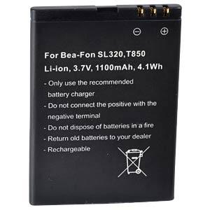 Ersatzakku, BEA-FON SL320, Li-ion, 1100 mAh FREI