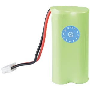 Cordless phone battery, NiMH, 2,4 V, 600 mAh FREI