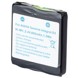Cordless-Phone-Akku, NiMH, 2,4 V, 600 mAh FREI