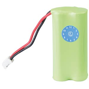 Cordless phone battery, NiMH, 2,4 V, 800 mAh FREI