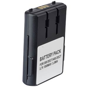 Cordless phone battery, Li-Ion 3,7 V, 950 mAh FREI