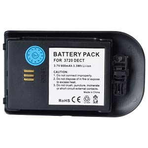 Cordless phone battery, Li-Ion 3,7 V, 900 mAh FREI