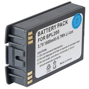 Cordless phone battery, Li-Ion 3,7 V, 1800 mAh FREI