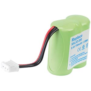 Cordless phone battery, NiMH, 2,4 V, 750 mAh FREI