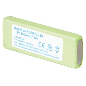 Cordless phone battery, NiMH, 1,2 V, 800 mAh FREI