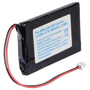 Cordless phone battery, Li-Ion 3,7 V, 600 mAh FREI
