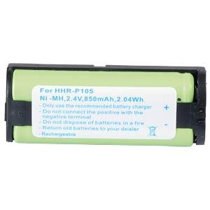 Cordless phone battery, NiMH, 2,4 V, 850 mAh FREI
