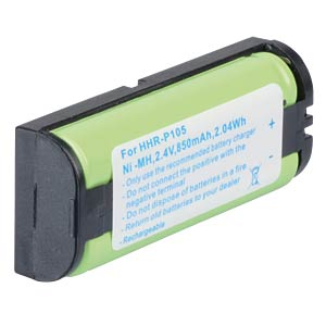 Cordless phone battery, NiMH, 2,4 V, 850 mAh FREI