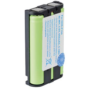 Cordless phone battery, NiMH, 3,6 V, 850 mAh FREI