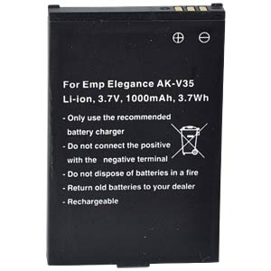 1000 mAh, Li-Ion für EMPORIA Elegance FREI