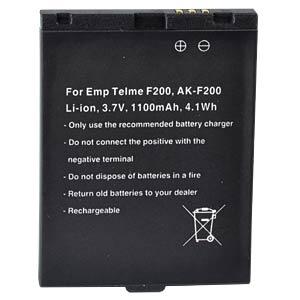 1100 mAh, Li-Ion for EMPORIA F200 FREI