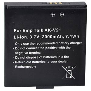2000 mAh, Li-Ion for EMPORIA TALK FREI
