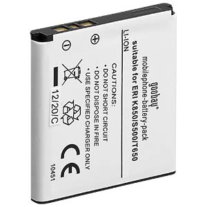 900 mAh, Li-Ion for SONY-ERICSSON K850 FREI