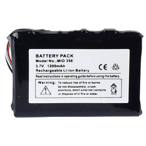 GPS navigation battery for ADAC BM6300 iQue, 1200 mAh FREI